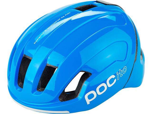 POC POCito Omne Spin Helmet Kids fluorescent blue